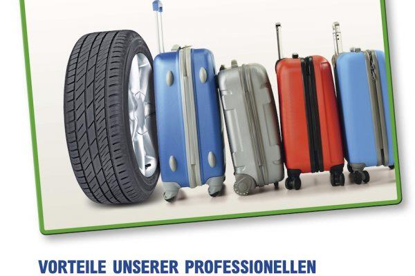 Reifen-Richter Reifen Einlagerung