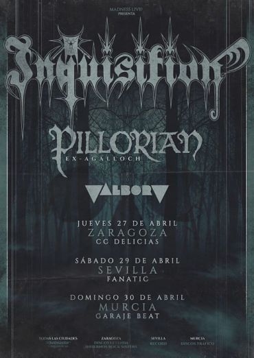Crónica Inquisition+ Pillorian +Valborg (31/04/2017) - Reigns The Chaos