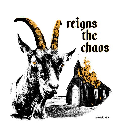 Diseño camiseta Cabrón Reigns The Chaos