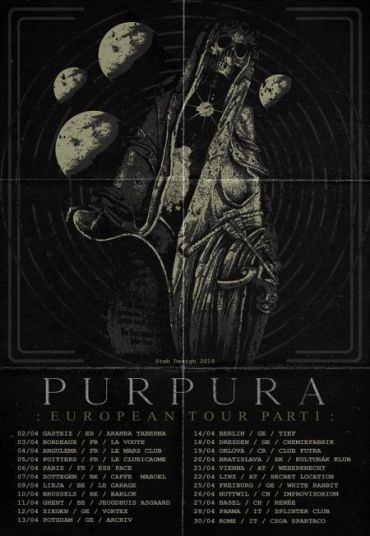 Purpura - EU Tour 2019 -