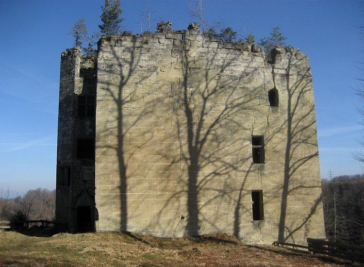 Ruines du château d'Illens