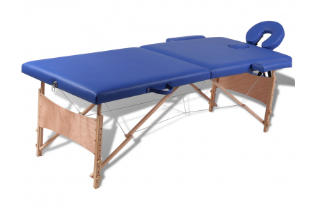 Table de massage pliante 2 zones pour d buter - Table de massage pas cher pliante ...