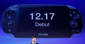 Sony Computer Entertainment Japan President Hiroshi Kawano speaks during a news conference on the company's PlayStation Vita handheld games device in Tokyo