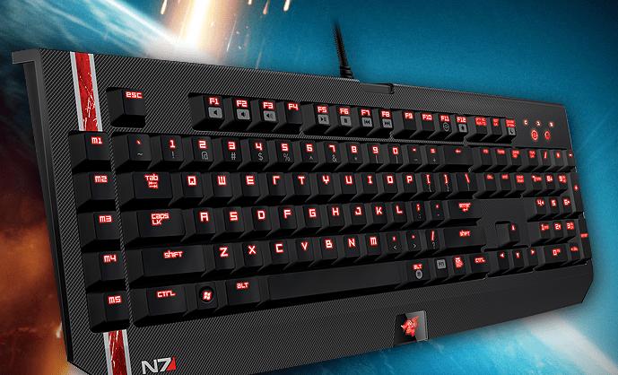 Mass Effect 3 Razer keyboard mouse headset gaming image 003