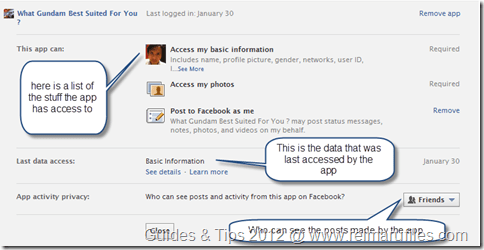 Remove App Access to Your Facebook profile tutorial image 5