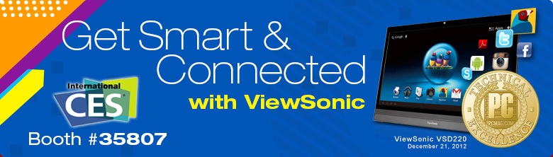 ViewSonic CES banner