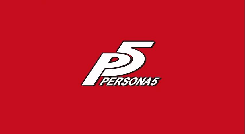 Persona 5 - title card