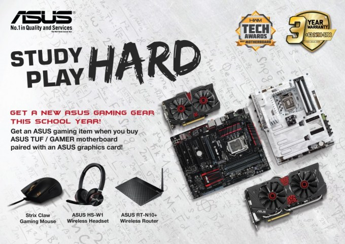 [PR] ASUS Announces Study Hard Play Hard Promo (1)