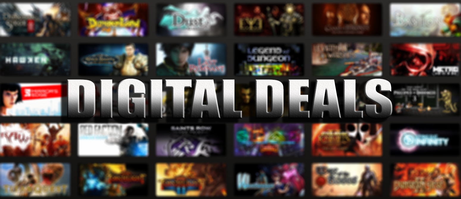 Today's Deal: Save 66% on titles from the Shadow Warrior Franchise!* Look for the deals each day on the front page of Steam. Or follow us on twitter or Facebook for instant notifications wherever you are!