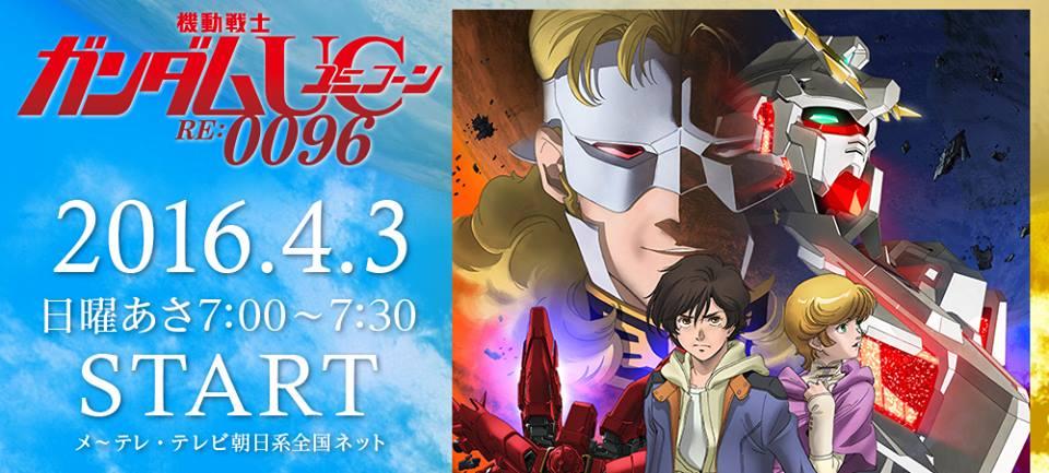 Gundam UC will be getting an Anime TV Series