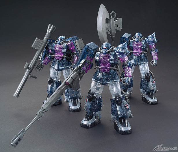 HG 1-144 High Mobility Type Zaku II theater Limited Limited Clear Ver Event Exclusive 1