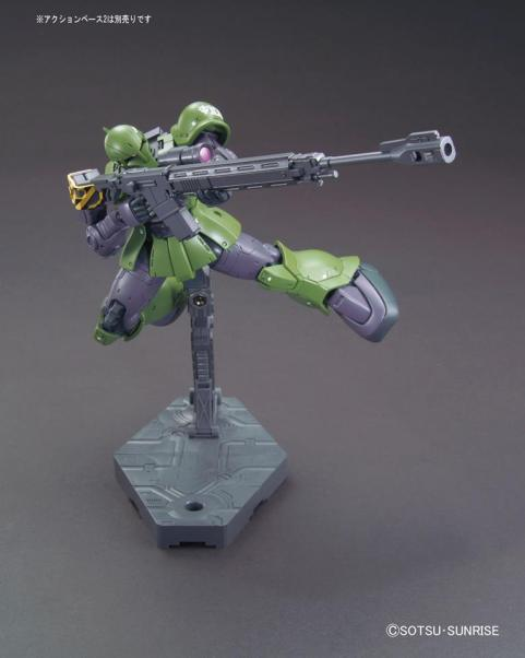 HG 1-144 Zaku I [Slender - Denim custom] Gundam The Origin ver. 2