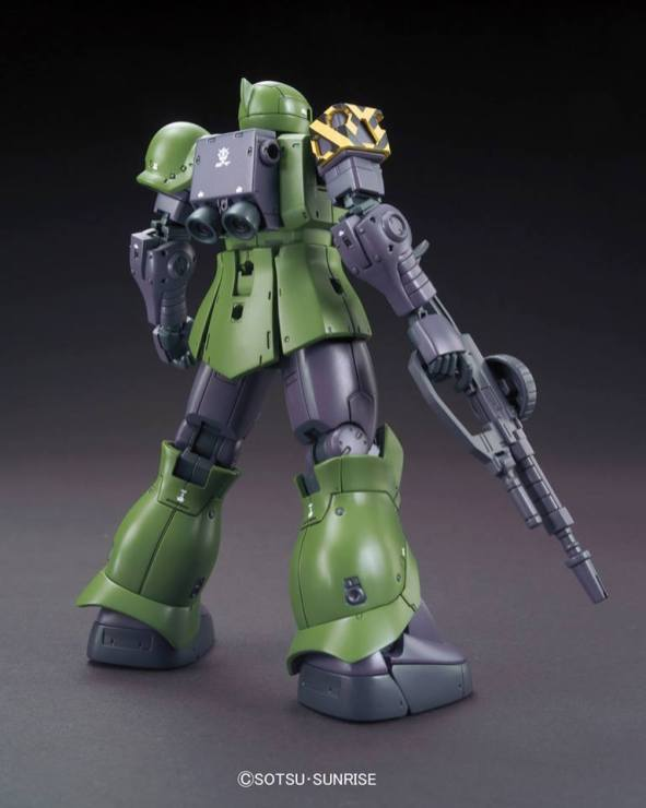HG 1-144 Zaku I [Slender - Denim custom] Gundam The Origin ver. 3