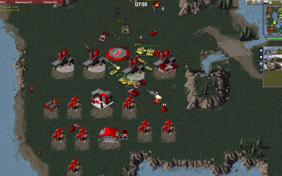 Classic RTS titles recreated by fans through the OpenRA Project