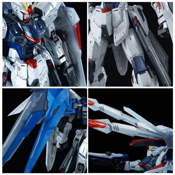 P-Bandai-MG 1-100 Freedom Gundam Ver. 2.0 Full Burst Mode Special Coating ver. 3