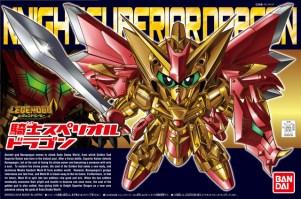 SD Legend BB Knight Superior Dragon Box