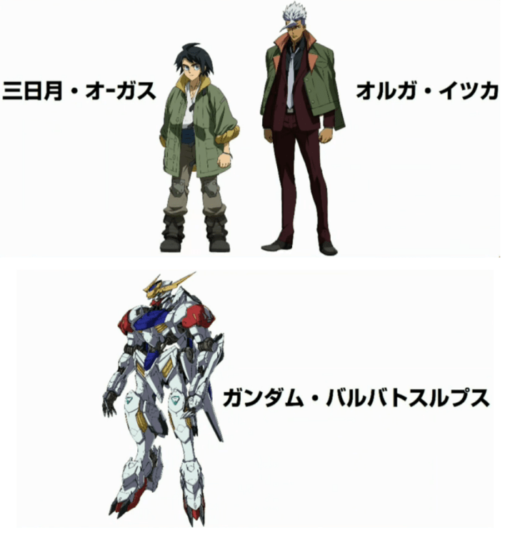 iron blooded orphans season 2 characters