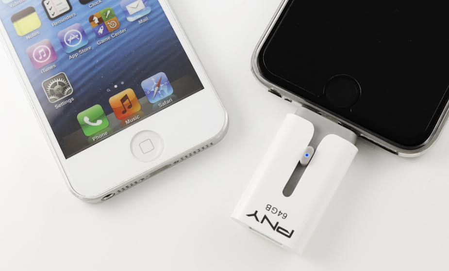 DUO-Link M is PNY's newest multi functional storage device for iOS devices