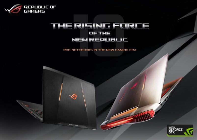 ROG The Rising Force KV