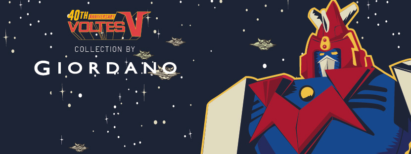 Giordano releases second Ultra Electromagnetic Voltes V collection