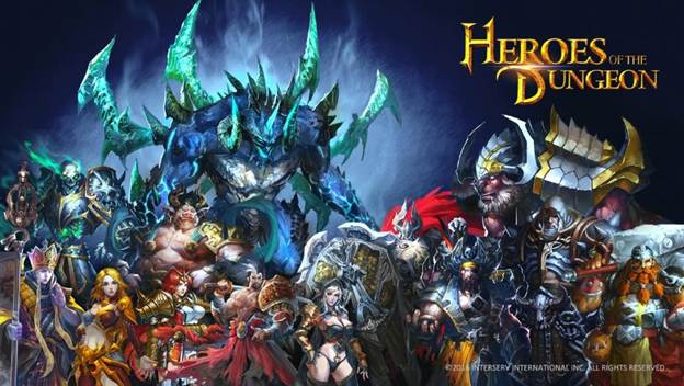 InterServ's Heroes of the Dungeon Action RPG Mobile Game Begins Beta