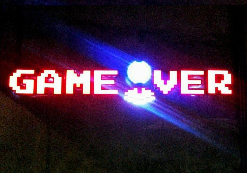 Play and Eat at Game Over PH