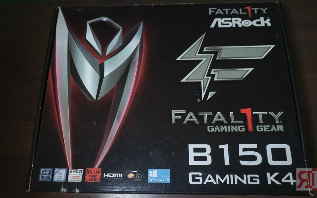 Asrock Fatal1ty B150 Gaming K4 Review