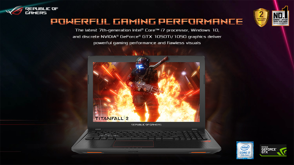 ASUS Republic Of Gamers Introduces ROG Strix Series GL753 and GL553