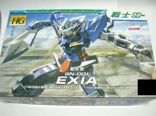 Bandai's HG Exia can cost more than USD 20 depending on which retailer you buy it from, as for the knock off version, well, you can pretty much have one for only USD 5.