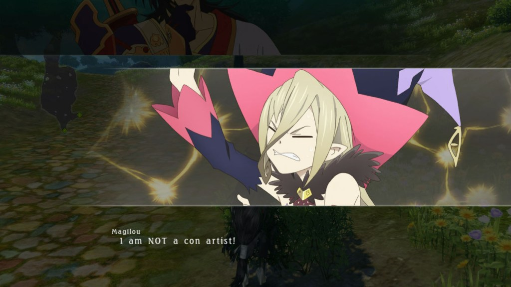 Above is probably the most entertaining character in this game.