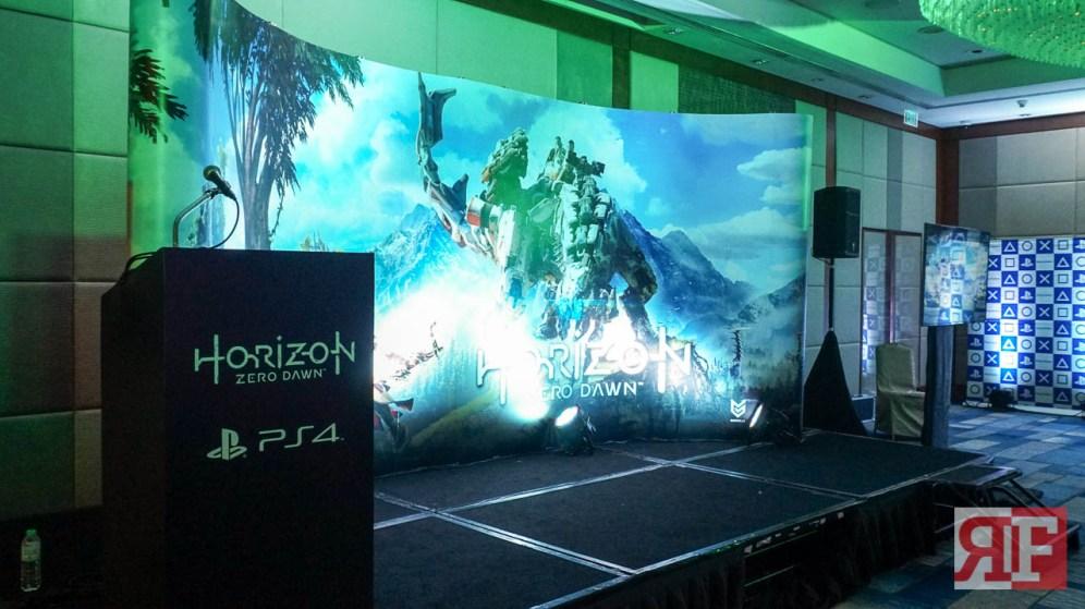 horizon zero dawn media event