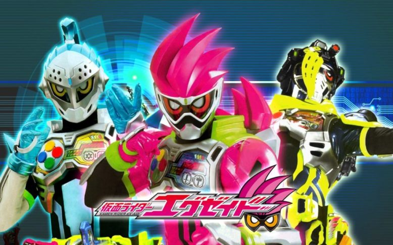 kamen rider ex-aid group shot