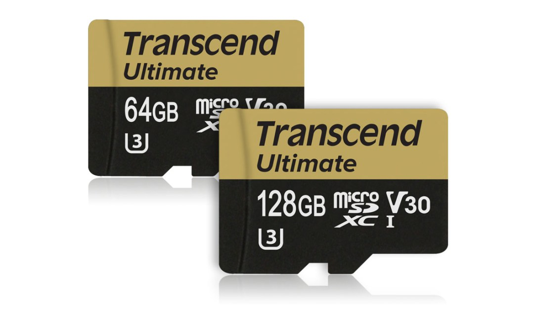 Transcend Unveils UHS V30 microSD Cards with 4K Ultra HD Video Support
