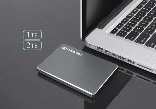 Transcend Introduces the Ultra Slim Portable Storage StoreJet 25C3