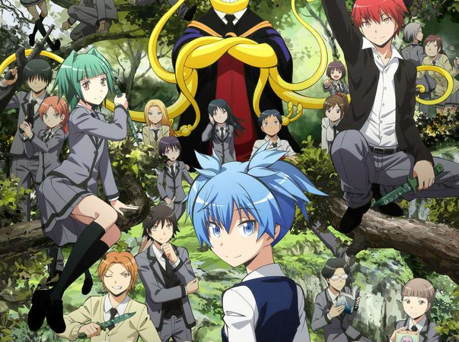 "Animax Brings Back All the Comedy and the Action When  ""Assassination Classroom"" Returns for a New Season this July!"