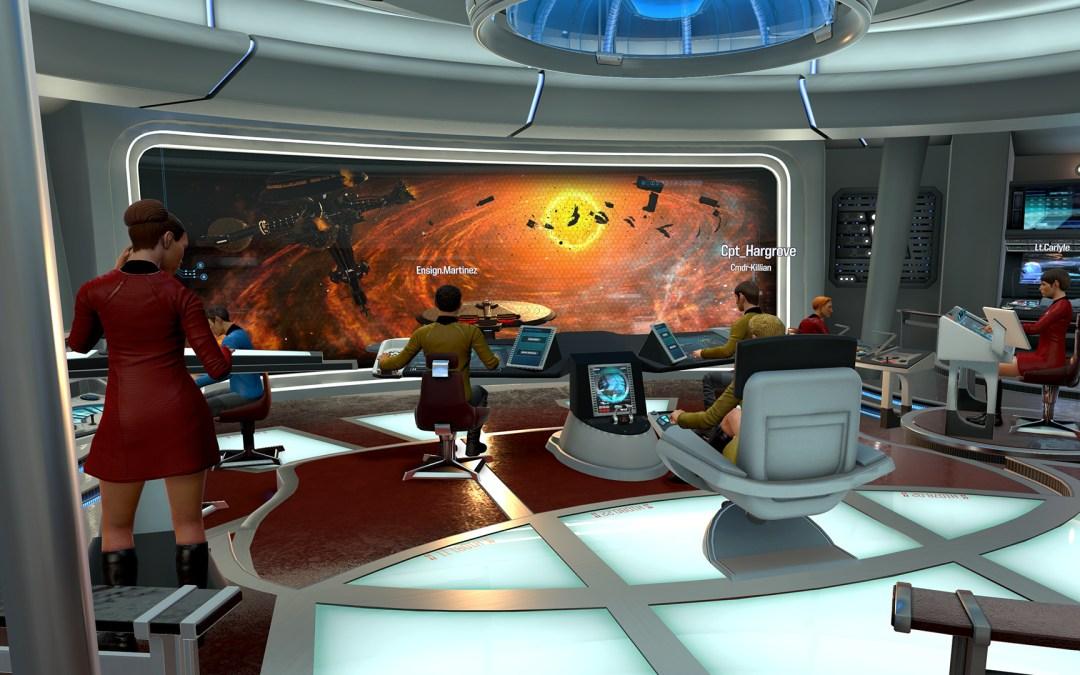 Ready Your Crew And Prepare For Warp In Star Trek: Bridge Crew