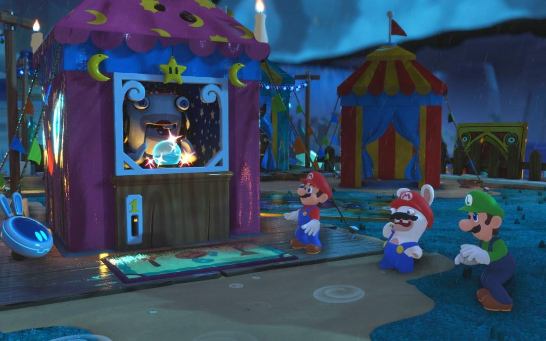 Mario + Rabbids Kingdom Battle Now Available On Nintendo Switch