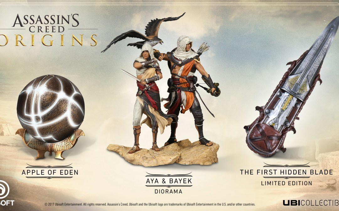Assassin's Creed Origins Collectibles Now Available For Pre-Order