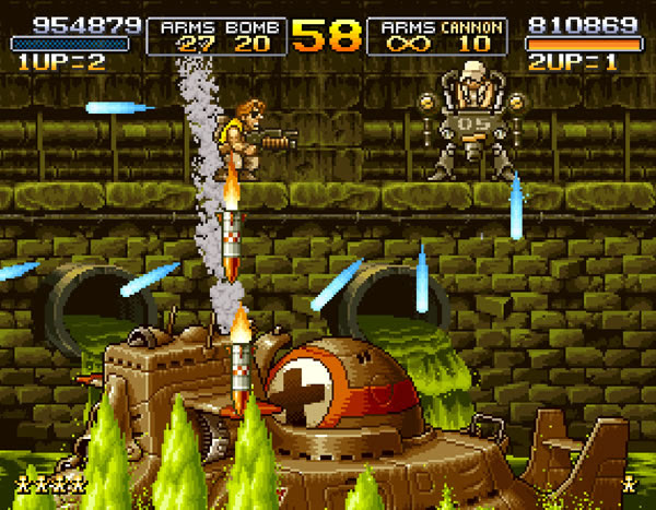 Metal Slug X is now available on PS4, Switch and Xbox One