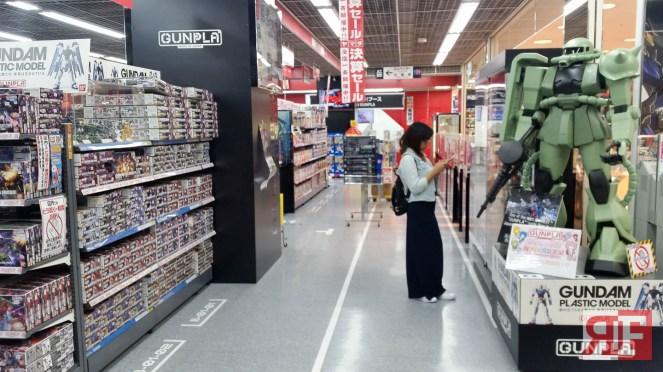 gundam store yamada denki-35