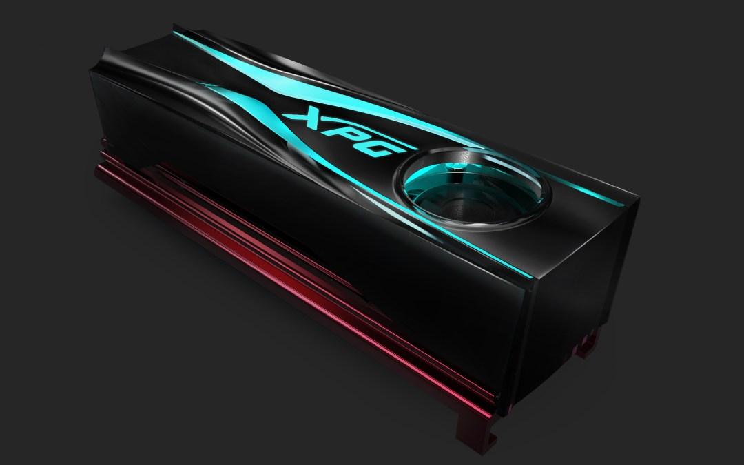 ADATA Releases the XPG STORM RGB M.2 2280 Active-Cooled Heatsink