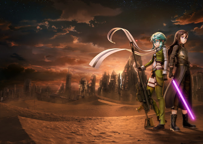 Check out the Sword Art Online Fatal Bullet Collector's Edition