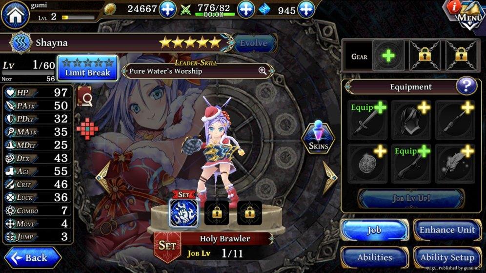 Screenshot 1A - Shayna