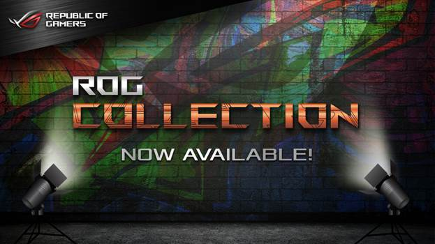 ASUS Introduces the Republic of Gamers Collection