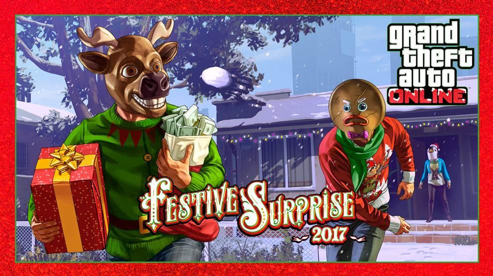 GTA Online's Festive Surprise 2017