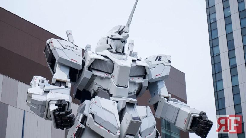 odaiba gundam statue-10
