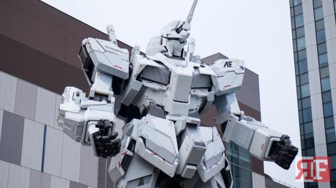 odaiba gundam statue-15