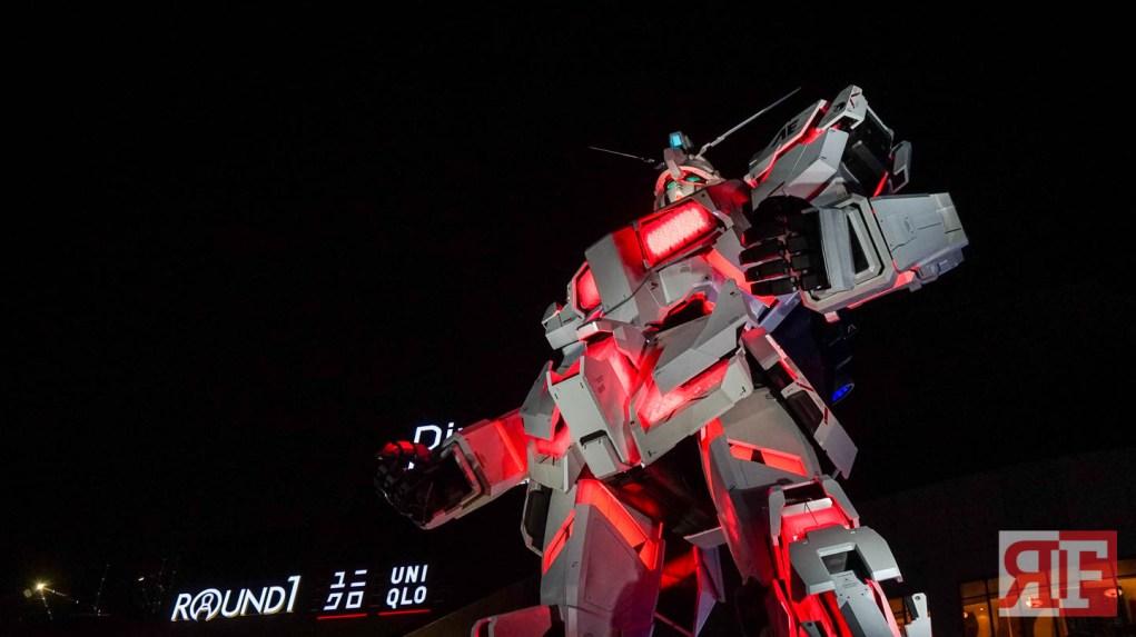 odaiba gundam statue-43