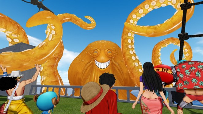 one piece grand cruise battle 2