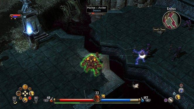 titan quest console screenshot